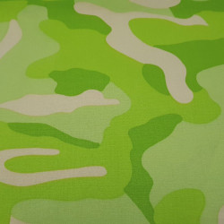 Camouflage Cotton Lime