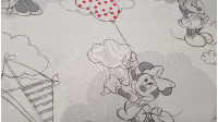 Algodón Disney Mickey Minnie Cometas