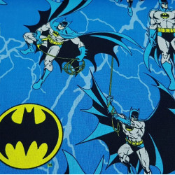Cotton Batman Blue