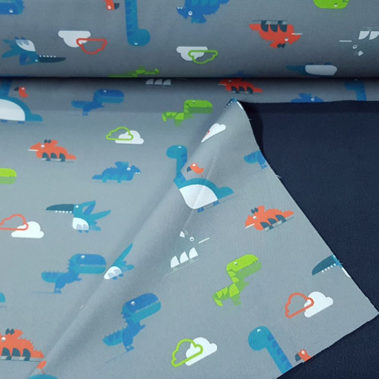 Softshell Dinosaurs Toy fabric -