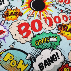 Burlington Comic Onomatopoeia