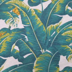 Canvas Banana Leaves