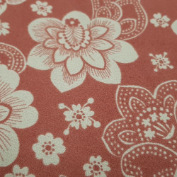 OUTLET Crepe Flowers Vintage Red