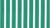 Crepe White Medium Striped Green Background fabric - Crepe fabric with medium white stripes on green background