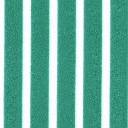 Crepe White Medium Striped Green Background